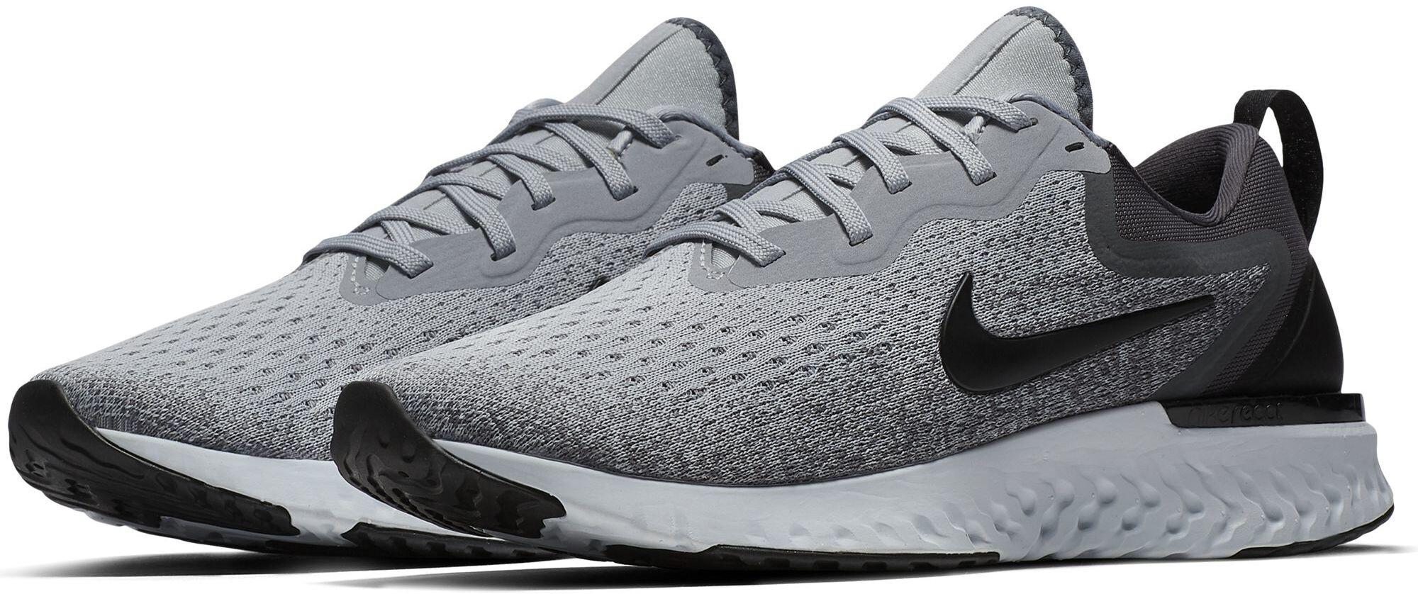 519ecc13 Nike Odyssey React Løpesko Dame wolf grey/black-dark grey-pure platinum